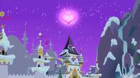 Canterlot in winter S2E11
