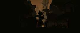 Capper obscured by darkness MLPTM