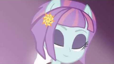 Equestria girls sunny transformation (animation test)