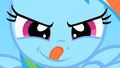 Filly Rainbow Dash licking lips S1E23.png