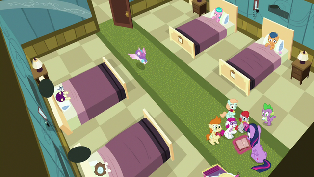 File:Flurry flying out of the sick foals' room S7E3.png