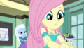 Fluttershy continues writing on the chalkboard EGDS10.png