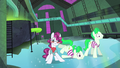 Henchponies slipping on icy floor S4E06.png