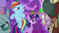 "Rainbow ""once we find out who did it"" S8E16"