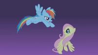 Rainbow 'Fluttershy, quick!' S1E02