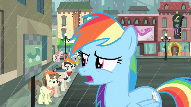 """File:Rainbow Dash """"Does everypony in this town want a cab"""" S4E08.png"""