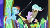 "Rainbow Dash ""she's got a point"" S9E1"