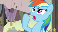 "Rainbow Dash ""the region would be cursed"" S7E18"