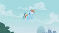 Rainbow Dash hears Pinkie Pie S01E05.png