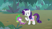 "Rarity ""what are you doing here?"" S8E11"