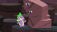 Spike --I don't want to be Dragon Lord-- S6E5