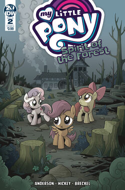 Spirit of the Forest issue 2 cover A