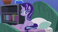Starlight Glimmer listening to Pinkie Pie S8E3