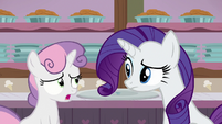 "Sweetie Belle ""still a little hungry, though"" S7E6"