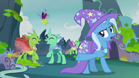 "Trixie ""wait for it..."" S7E17"