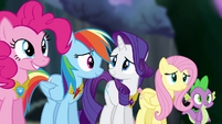 "Twilight's friends ""it will never, ever be broken"" S4E02"