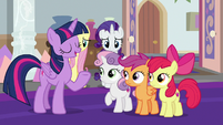 "Twilight ""one of the pillars of friendship"" S8E12"