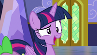 "Twilight Sparkle dismissive ""busy?"" S7E3"