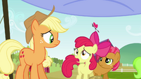 Apple Bloom 'There's more-' S3E08