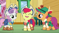 Apple Bloom --the more chances we'll have to finally get our cutie marks!-- S6E4