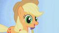 Applejack smiling with big eyes S01E14.png