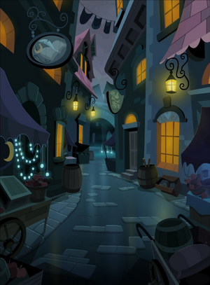 Canterlot curio shop alley S3E5