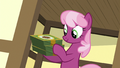 Cheerilee buys three boxes of cookies S6E15.png