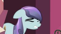 Crystal pony cringing S3E1