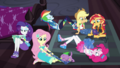 Equestria Girls in various states of distraction EGDS6.png