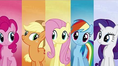 Finnish My Little Pony Kodin näin mä linnasta teen HD