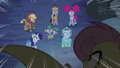 Flutterbat swoops down on main cast S5E21.png