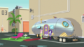 Fluttershy and Rarity outside Chestnut Magnifico's trailer EGS2.png