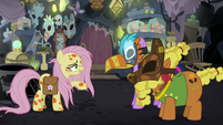 "Fluttershy calling Cattail ""Dogtail"" S7E20"