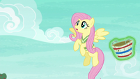 Fluttershy sees the incoming softball S6E18