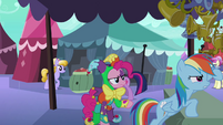 Jester Pinkie not happy S3E2