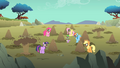 Main ponies mud on face S01E19.png