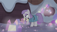 Maud Pie looks for the obsidian S5E20
