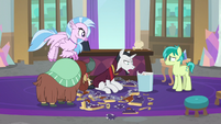 "Neighsay ""get word to Celestia and Luna"" S8E26"