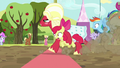 Orchard Blossom crosses the finish line S5E17.png