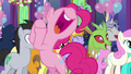 "Pinkie Pie ""what a great surprise!"" S7E1.png"