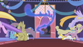 Ponies flee from Nightmare Moon S1E02.png
