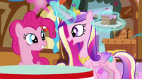 "Princess Cadance ""you did it, Pinkie Pie!"" S5E19"