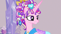 Princess Cadance pleased smile S3E12