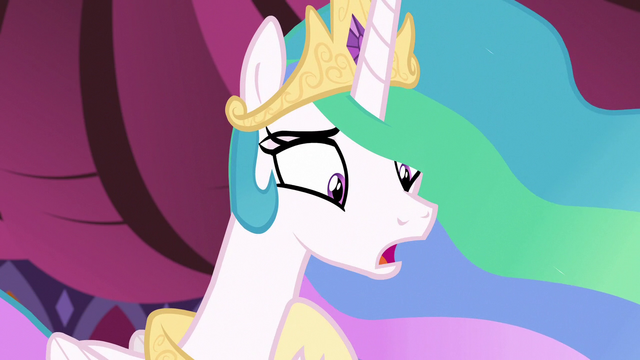"File:Princess Celestia ""you think I don't get tired?"" S7E10.png"
