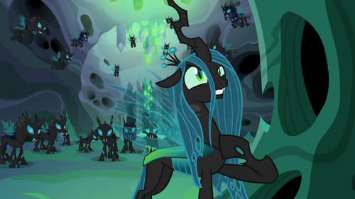 Queen Chrysalis --according to my plan-- S6E26