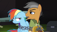 """Quibble """"you're gonna stick with that script"""" S6E13"""
