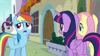 "Rainbow ""not many Pegasi wanted to help"" S9E24"