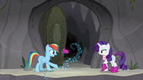 "Rainbow Dash ""high heels could do that?"" S8E17"
