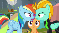 "Rainbow Dash ""making anypony feel bad"" S8E20"