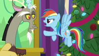 """Rainbow Dash """"you mean you tricked me"""" MLPBGE"""